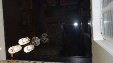 <h1>Глянцевый натяжной потолок в кухне.</h1>  <h2>Произведём установку бесшовного натяжного потолка в вашей кухне по приемлемым ценам в Луганске, Стаханове, Алчевске, Брянке, Первомайске и Кировске.</h2>